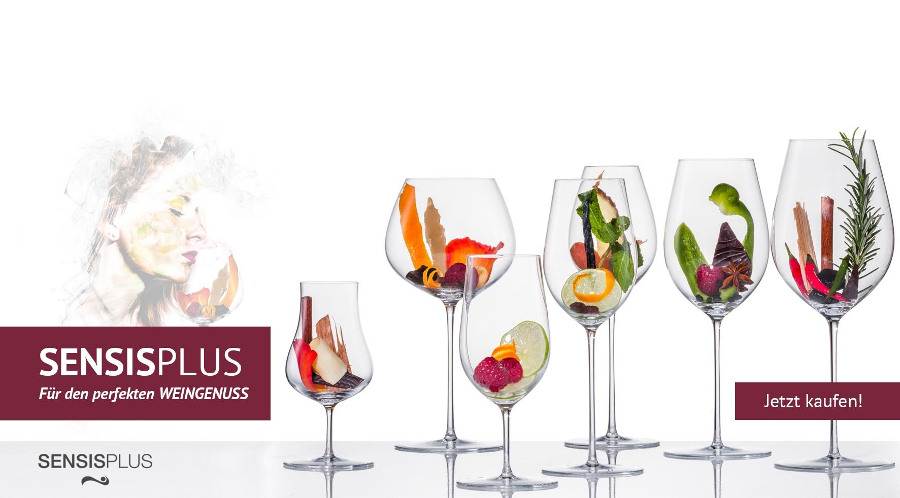 SensisPlus-Gläser von Eisch