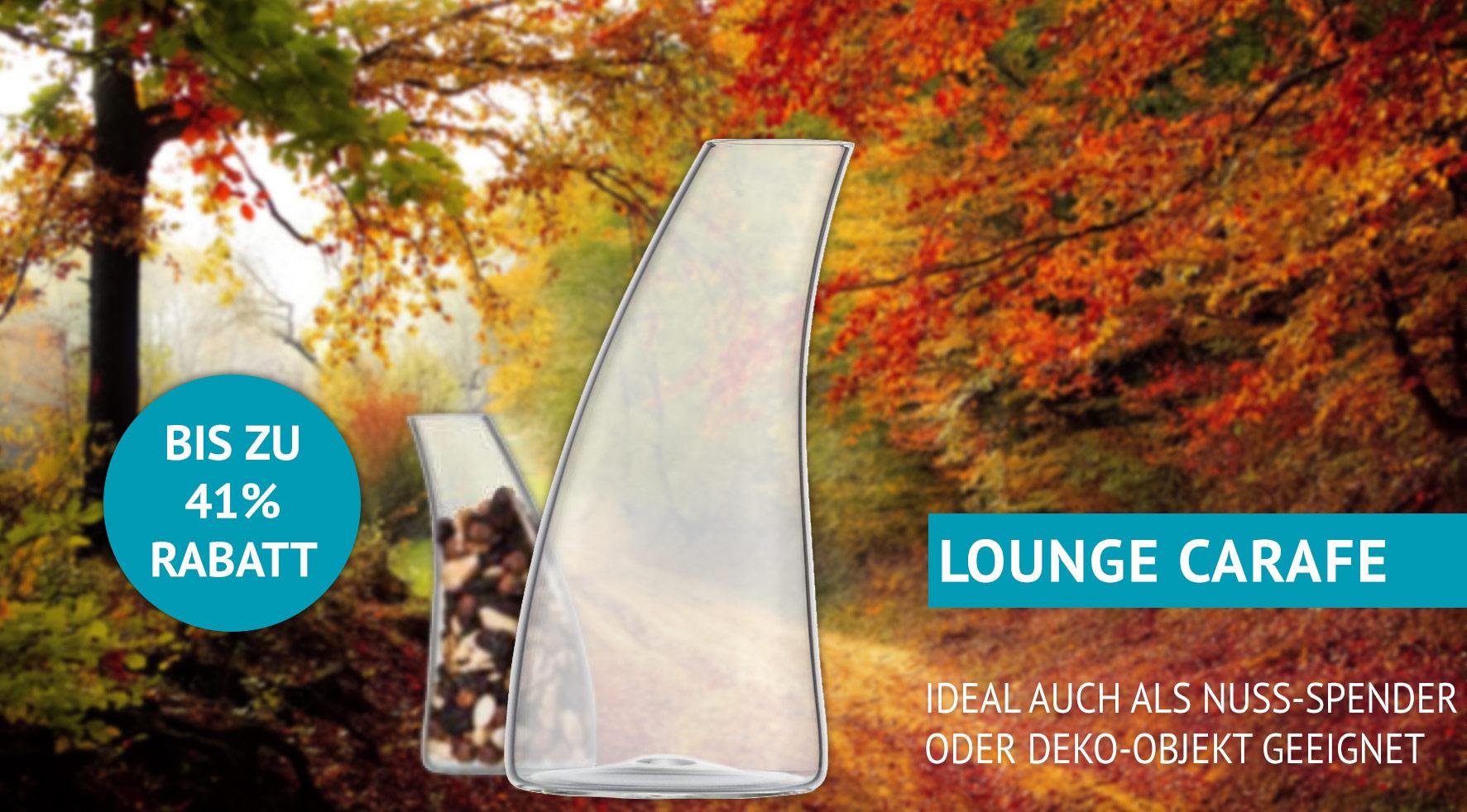 Lounge Carafe Sonderpreis