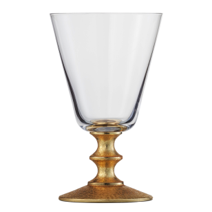 Rotweinglas gold Gold Rush