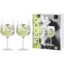 Gin Tonic Secco Flavoured seidenmatt - 2 Stück im Geschenkkarton