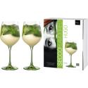 Hugo Glas Secco Flavoured grün - 2 Stück im Geschenkkarton