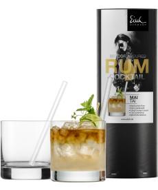 Rumcocktailglas Set in Geschenkröhre Secco Flavoured