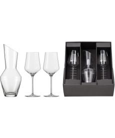 Geschenkset Rotweinglas Sky SENSISPLUS mit Karaffe und 2 x Rotweinglas
