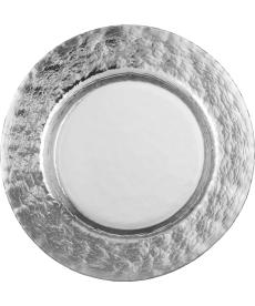 Essteller 28 cm Colombo Silber