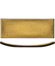Platte 295 x 95 mm gold Gold Rush