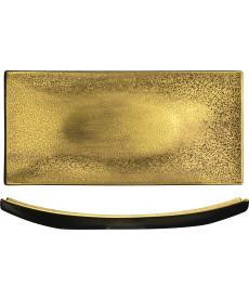 Platte 390 x 180 mm gold Gold Rush