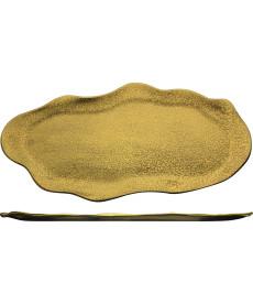 Platte 480 x 265 mm gold Gold Rush