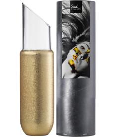 Karaffe 1,00 l gold No Drop Effekt in Geschenkröhre Gold Rush