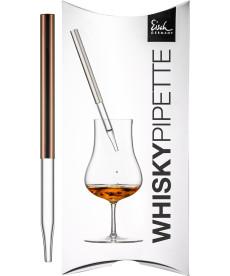 Whisky-Pipette kupfer Gentleman im Geschenkkarton