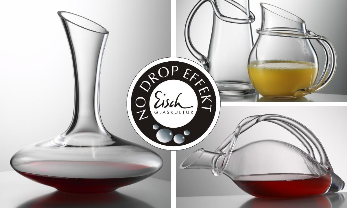 No Drop Effekt Eisch Glasshop