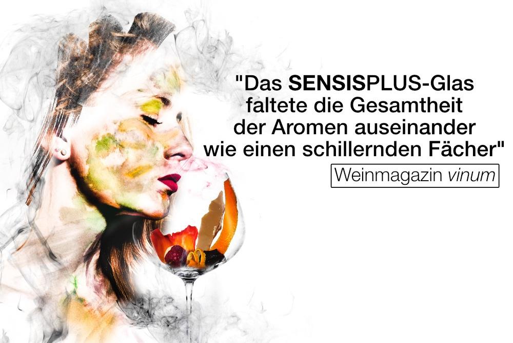 SENSISPLUS Referenz Vinum-Magazin Eisch Glasshop