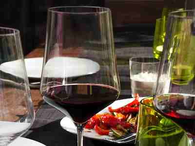 Rotweinglas Tafel Eisch